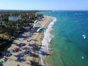 republique dominicaine plage kitesurf retraite yoga cabarete