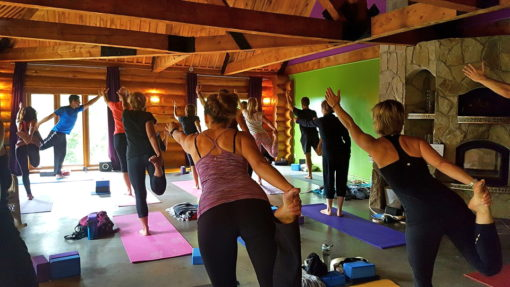 salle yoga espace prana retraite yoga rawdon juin 2017