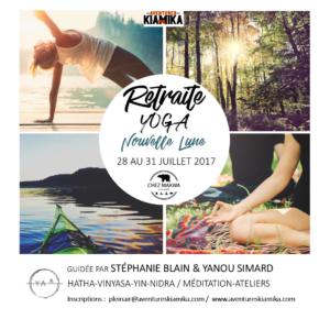 nouvelle lune retraite de yoga