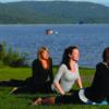 lac retraite yoga mont tremblant laurentides