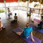 tissu aerien retraite yoga cirque republique dominicaine septembre 2017
