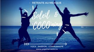 Soleil &_COCO_retraite_yoga_mexique
