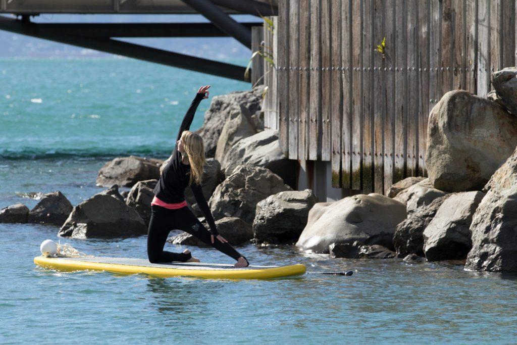 sup yoga mal de mer