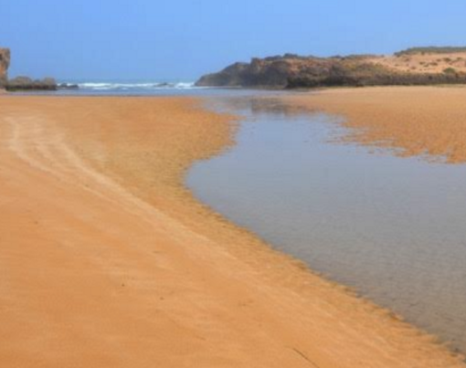 paysage eau desert Saloua ACHARKI retraite yoga meditation maroc mai 2017