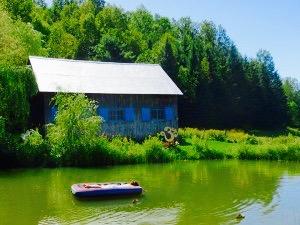 Lac Retraite Yoga extérieur au Centre de vie - Ripon_ Outaouais 2017