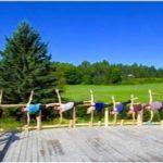 Retraite Yoga extérieur au Centre de vie - Ripon_ Outaouais 2017