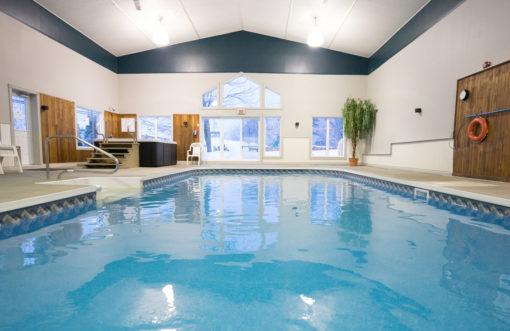 piscine retraite yoga mont saint anne quebec mai 2017