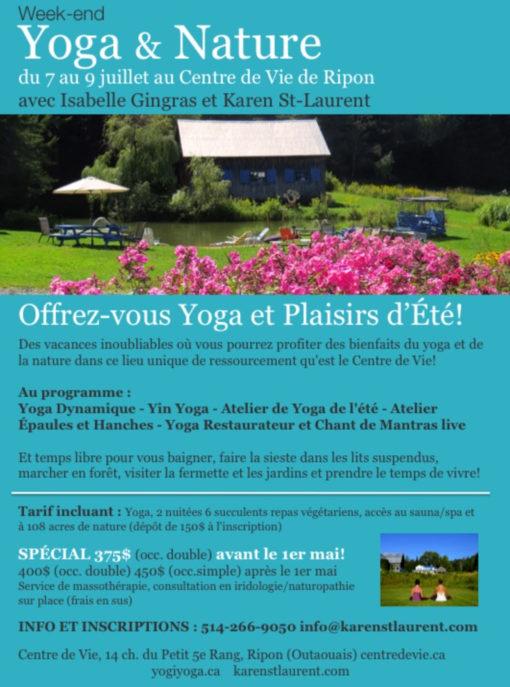 retraite yoga ripon centre de vie
