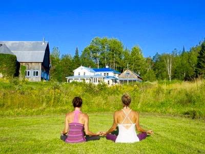 Méditation Retraite Yoga extérieur au Centre de vie - Ripon_ Outaouais 2017