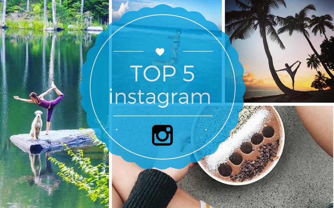 Top 5 des comptes Instagram québécois inspirant pour les accros de yoga.