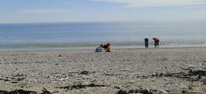 retraite-yoga-mère-enfant-2017 - perce-Quebec-plage
