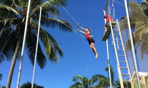 trapeze retraite yoga cirque republique dominicaine septembre 2017