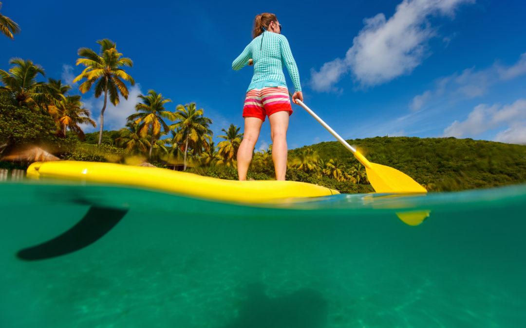 Mal de mer et SUP yoga : «eau» secours!