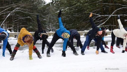 retraite_yoga_nouvelle_annee_estrie_janvier_2019_yoga_exterieure