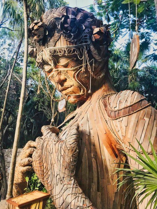 retraite_ypga_tulum_mexique_novembre_2019_statue